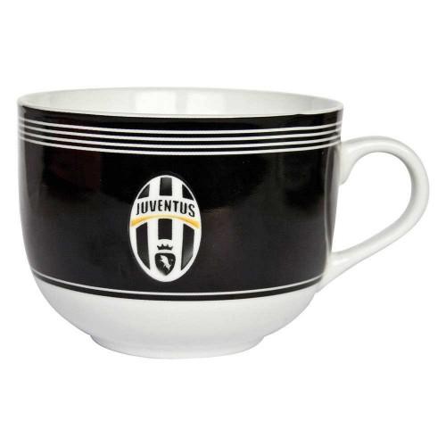 Tazza Colazione Nera F.C. Juventus