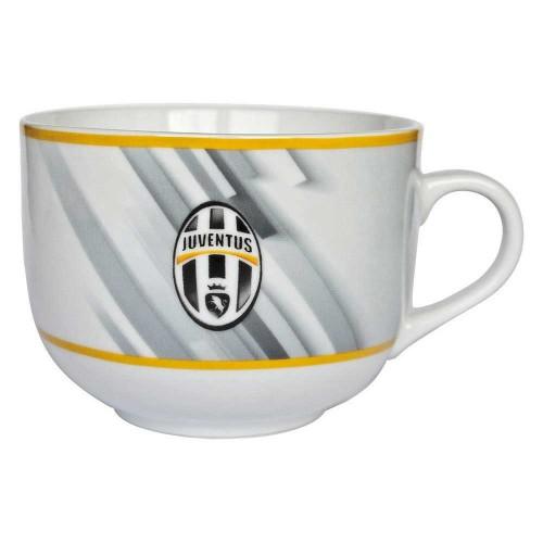 Tazza Colazione Grigia F.C. Juventus