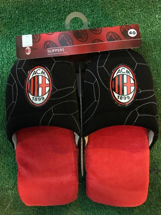 Pantofole Ufficiali Logo A.C. Milan