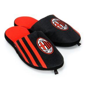 Pantofole Ufficiali Nere Bambino A.C. Milan