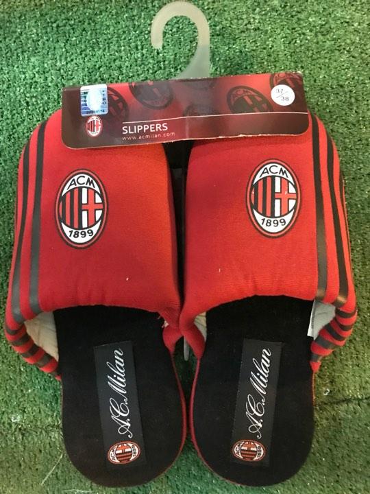 Pantofole Ufficiali Rosse Bambino A.C. Milan