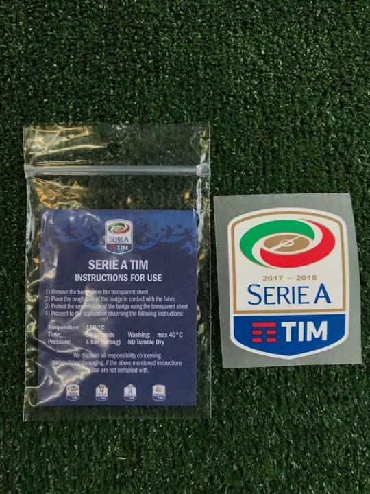 Patch Ufficiale Serie A 2017/2018
