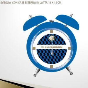Orologio Sveglia Ufficiale F.C. Inter