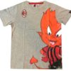 T-shirt Milanello Grigia Ufficiale Bambino A.C. Milan