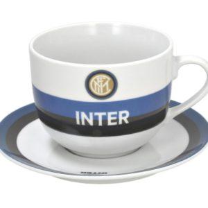 Tazza Colazione Con Piatto Ufficiale F.C. Inter