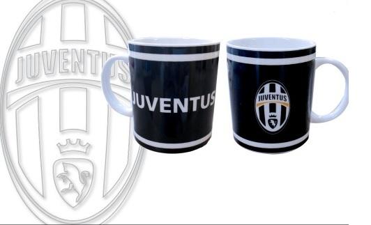 Tazza Cilindrica Nera Ufficiale F.C. Juventus