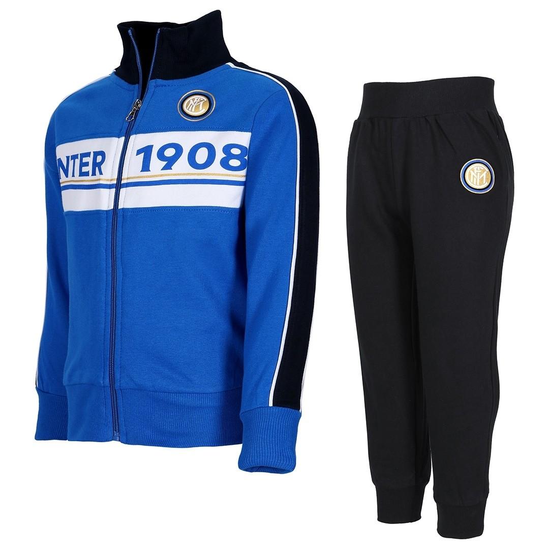 Tuta Zip Ufficiale Bambino F.C. Inter