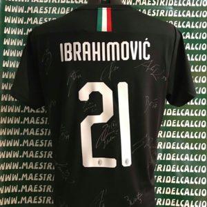 MAESTRI DEL CALCIO Maglia Gara Away Bambino A.C Milan 2019/2020 ...