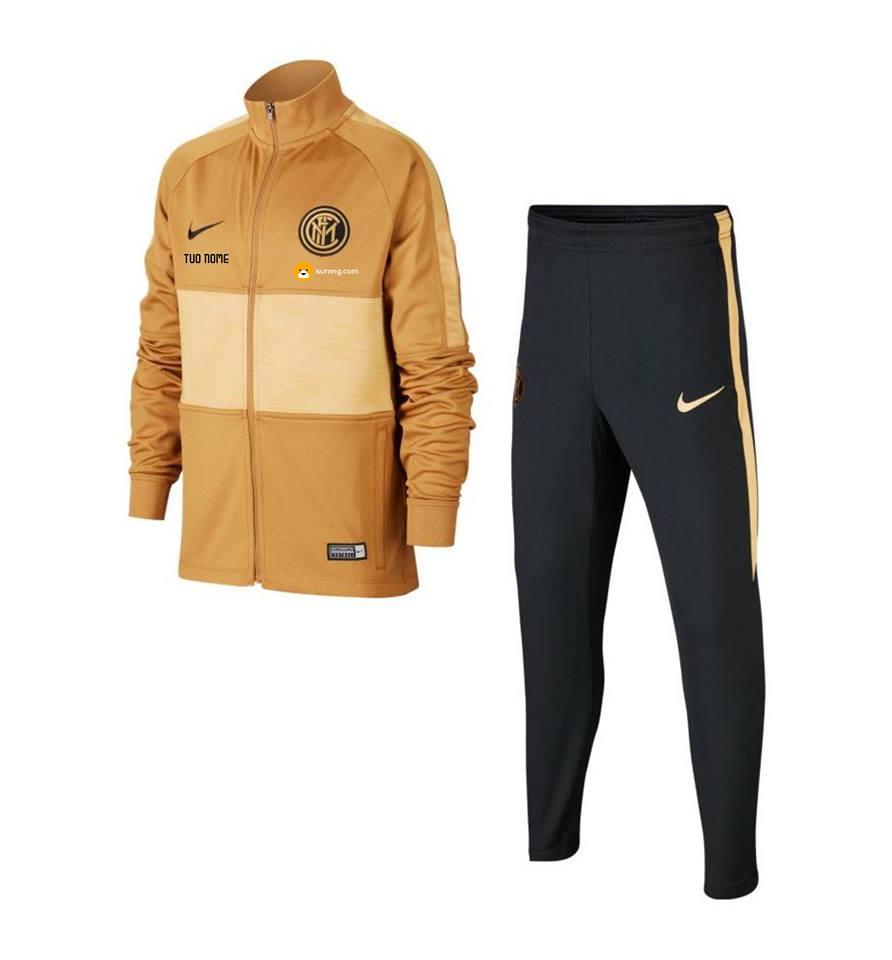 Tuta Rappresentanza Oro Bambino F.C. Inter 20192020