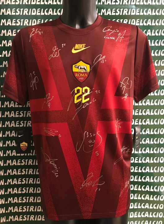 Abbigliamento specifico Maglia Zaniolo Roma Ufficiale 2018/2019 AS ...
