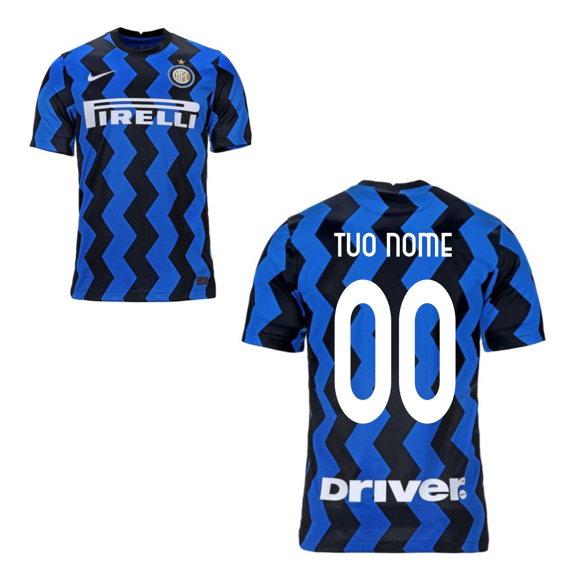 Maglia Gara Home F.C. Inter 2020/2021
