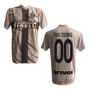 Inter 19//20 Personalizzato Personalizzabile MAESTRI DEL CALCIO Pantaloncini Gara Away Bambino F.C